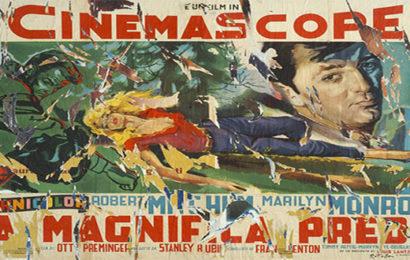 Mimmo Rotella e il cinema – Mostra a Locarno