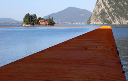 The Floating Piers: camminare sulle acque del Lago d'Iseo