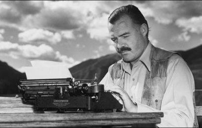 Ernest Hemingway: il Papa della letteratura