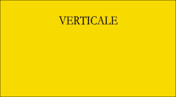 Verticale – Maddalena Lotter
