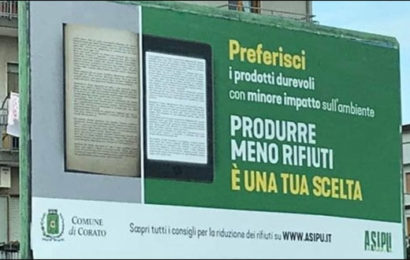 I libri come spazzatura: l'assurdo manifesto a Corato