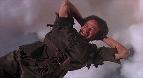 Robin Williams: Peter Pan è tornato sull'Isola che non c'è…